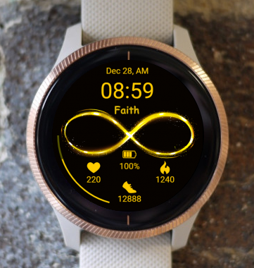 Garmin Watch Face - Faith