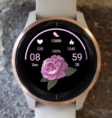 Garmin Watch Face - Floral Dreams