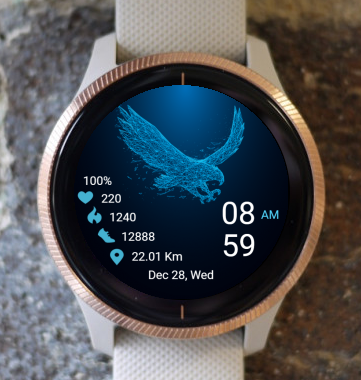Garmin Watch Face - Bird 03