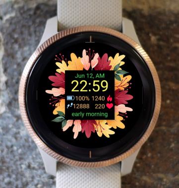 Garmin Watch Face - Autumn Magic 10