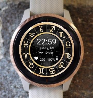 Garmin Watch Face - Zodiac 01