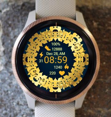 Garmin Watch Face - Ga Circle