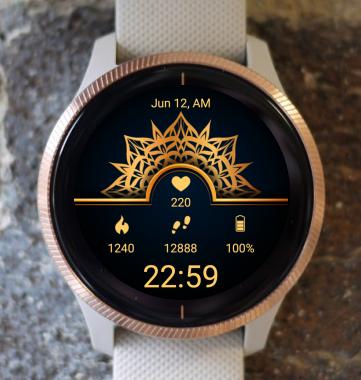 Garmin Watch Face - Mandala SA