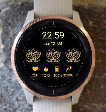 Garmin Watch Face - Golden