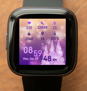 Christmas Purple