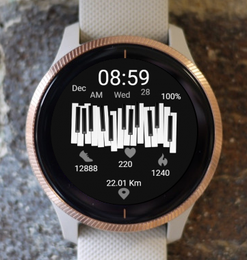 Garmin Watch Face - Music 04