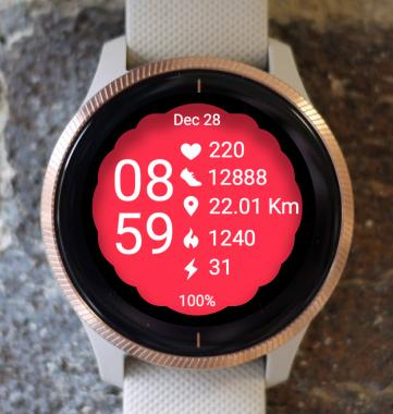Garmin Watch Face - Active Sport