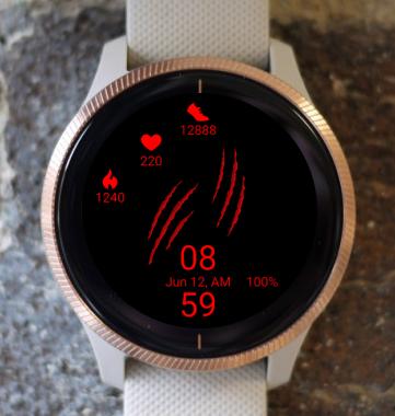 Garmin Watch Face - Scratch