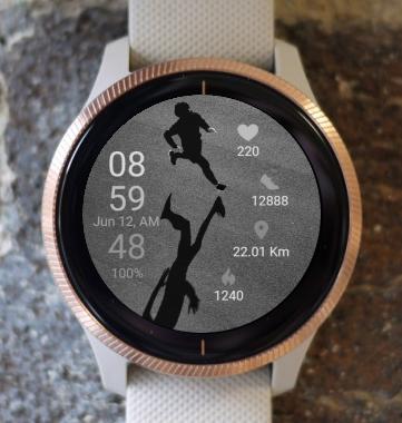 Garmin Watch Face - Run 08