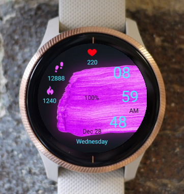 Garmin Watch Face - Neon 03
