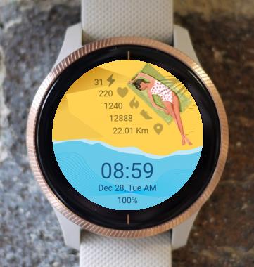 Garmin Watch Face - Vacation 01