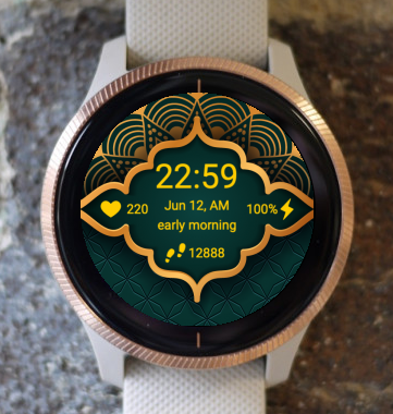 Garmin Watch Face - Green Night G