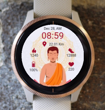 Garmin Watch Face - RR Meditation