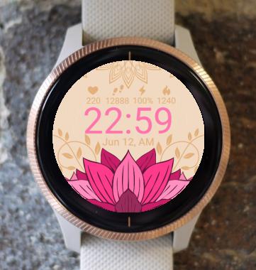 Garmin Watch Face - Mandala G