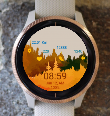 Garmin Watch Face - Autumn FST