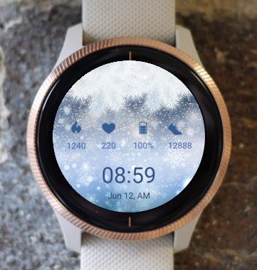 Garmin Watch Face - Winter Freez