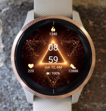 Garmin Watch Face - Warp