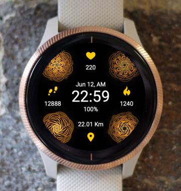Garmin Watch Face - Mandala C7
