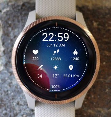 Garmin Watch Face - Red Planet