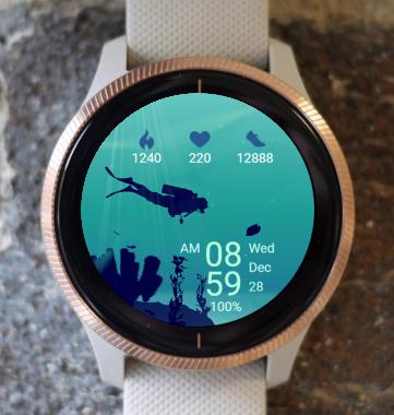 Garmin Watch Face - Diver 03