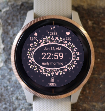 Garmin Watch Face - Pink Epsilon