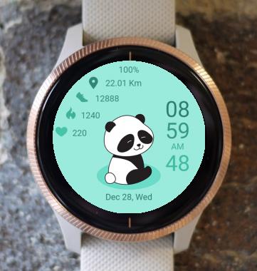Garmin Watch Face - Happy Panda