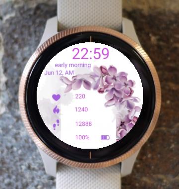 Garmin Watch Face - Organ