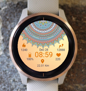 Garmin Watch Face - Mandala R.