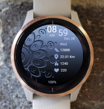 Garmin Watch Face - Mandala T1