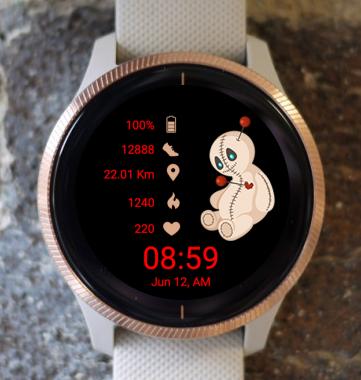 Garmin Watch Face - HW Love