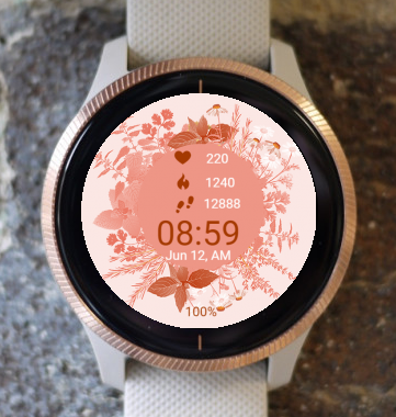 Garmin Watch Face - Autumn Field