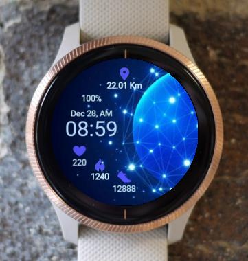 Garmin Watch Face - Beyond The  Matrix