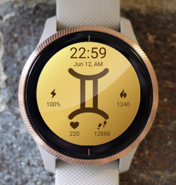 Garmin Watch Face - Gemini 2