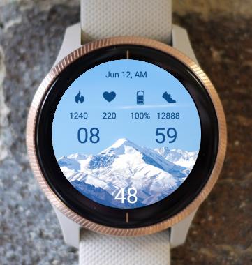 Garmin Watch Face - Mountain