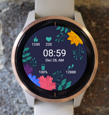 Garmin Watch Face - Paper Nature G
