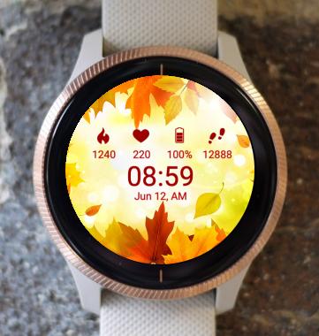 Garmin Watch Face - Autumn S1