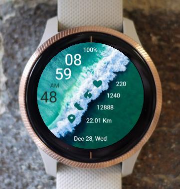 Garmin Watch Face - Ocean