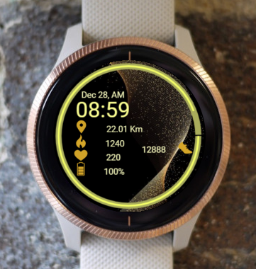 Garmin Watch Face - Ga Quantum Flow