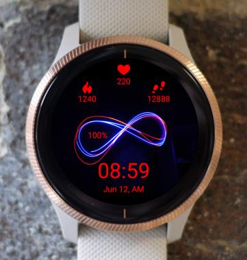 Garmin Watch Face - Infinity