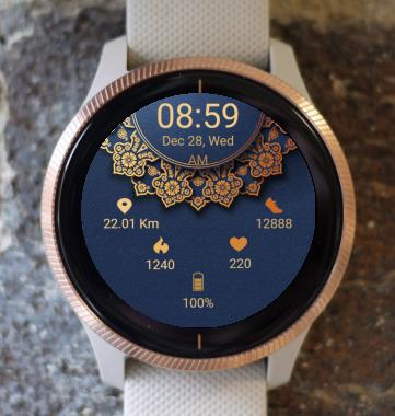 Garmin Watch Face - Mandala G9