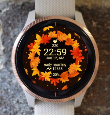 Garmin Watch Face - Autumn Magic 15