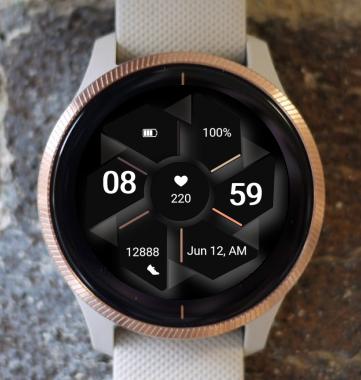 Garmin Watch Face - Dark Fold