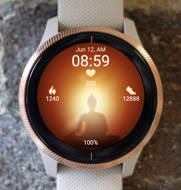 Garmin Watch Face - Peace