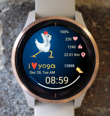Garmin Watch Face - Yoga 05