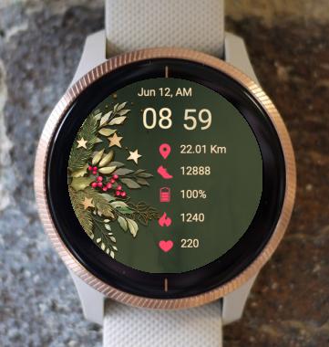 Garmin Watch Face - Christmas SNG