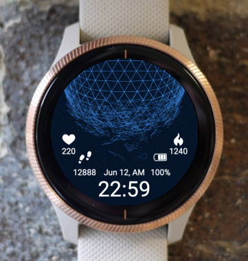 Garmin Watch Face - Universe Voice