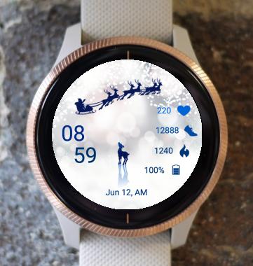 Garmin Watch Face - Christmas Dream