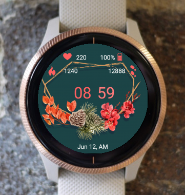 Garmin Watch Face - Autumn Ring