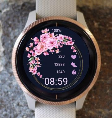 Garmin Watch Face - Pink Ring