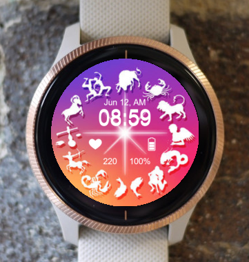 Garmin Watch Face - Zodiac 10